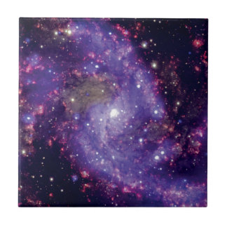 The Fireworks Galaxy Outer Space Photo Ceramic Tile