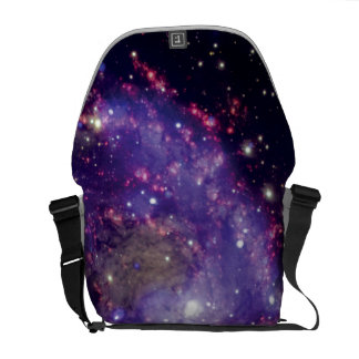 The Fireworks Galaxy Outer Space Photo Courier Bag