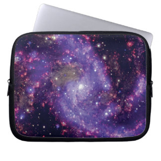 The Fireworks Galaxy Outer Space Photo Laptop Sleeve