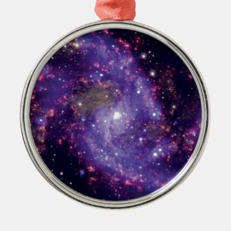 The Fireworks Galaxy Outer Space Photo Metal Ornament