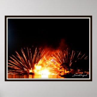 The fireworks print
