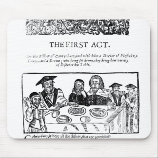 The First Act, a satirical play against Mouse Pad