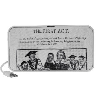 The First Act a satirical play against Mini Speakers