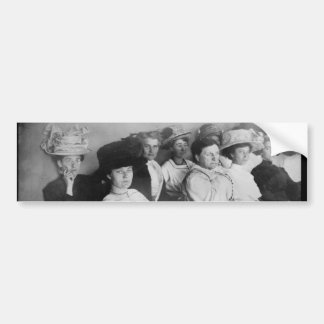 The First All Woman Jury in Las Angeles from 1911 Car Bumper Sticker