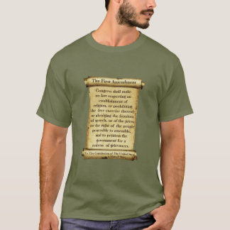 The First Amendment - A MisterP Shirt