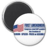 The First Amendment Magnet