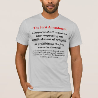 The First Amendment T-Shirt