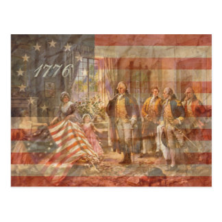 The First American Flag Post Cards