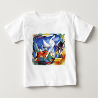 The First Animals by Franz Marc Baby T-Shirt