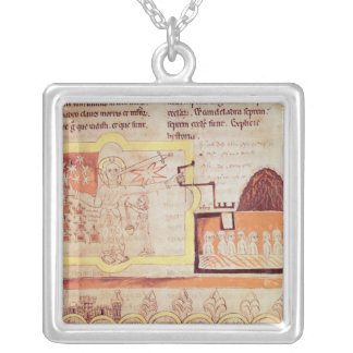 The First Appearance of the Son of Man Square Pendant Necklace