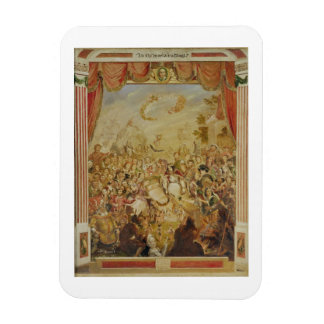 The First Appearance of William Shakespeare (1564- Rectangular Photo Magnet