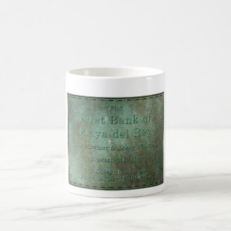 The First Bank of Playa del Rey - Erected 1904 Classic White Coffee Mug