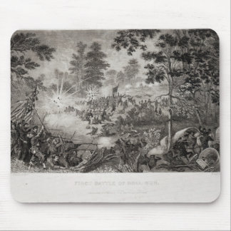 The First Battle of Bull Run Mouse Pad