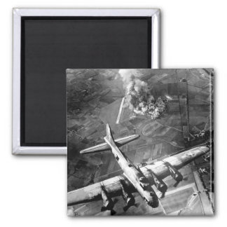 """The first big raid by the 8th Air Force_War Image Magnet"
