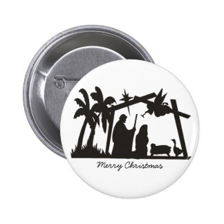 The first Christmas Button