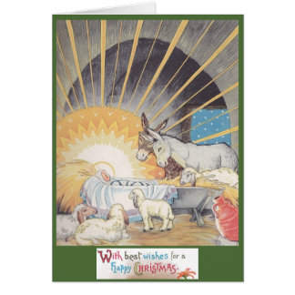 The First Christmas Greeting Card