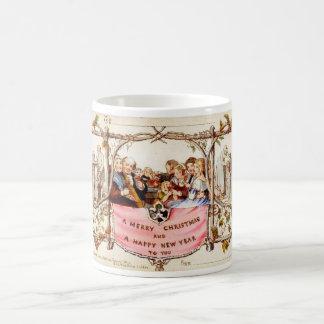The First Christmas Card Coffee Mug