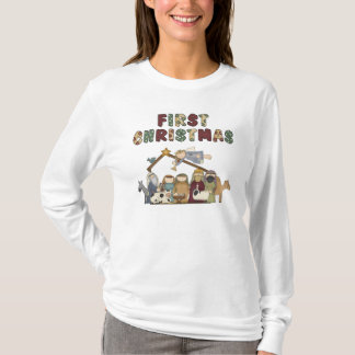 The First Christmas Nativity Scene T-Shirt