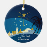 The First Christmas Personalized Ornament