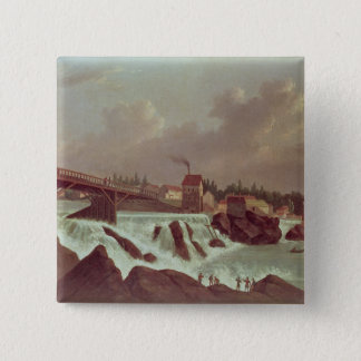 The first cotton mill in America Button