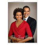 The First Couple Greeting Card
