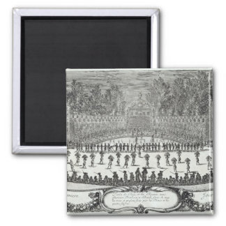 The First Day Festival of 'Les Plaisirs de 2 Inch Square Magnet