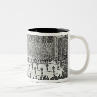 The First Day Festival of 'Les Plaisirs de Two-Tone Coffee Mug