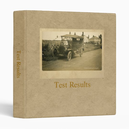 The First Driving Lesson Binder