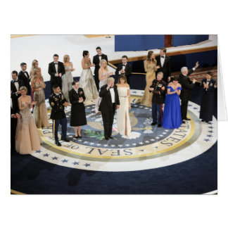 The First Family At The Liberty Ball Card