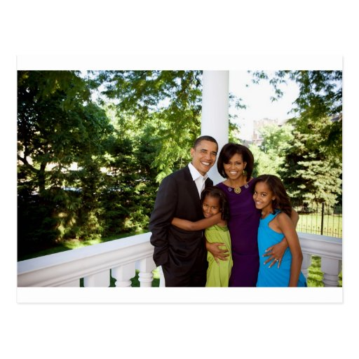 The First Family Postcard