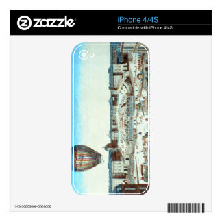 The first flight of Pilatre du Rozier's hot-air ba Skins For The iPhone 4
