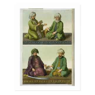 The First Four Caliphs, plate 31 from Part III, Vo Postcard