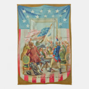 The First Fourth of July Kitchen Towel
