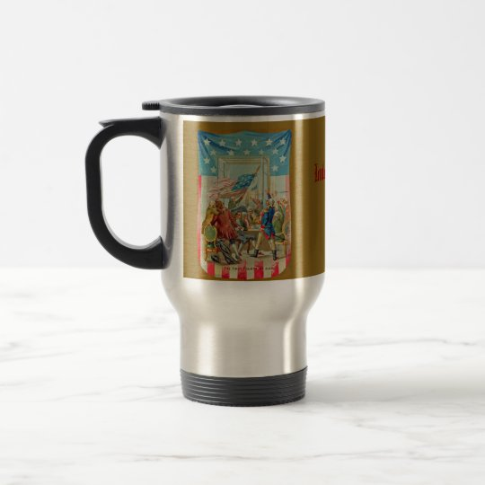 The First Fourth Of July Travel Mug