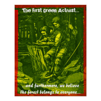 The First Green Activist Posters