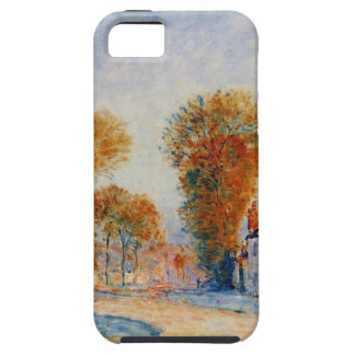 The First Hoarfrost by Alfred Sisley iPhone SE/5/5s Case