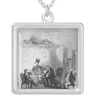 The First Interview with Mr. Serjeant Snubbin Silver Plated Necklace
