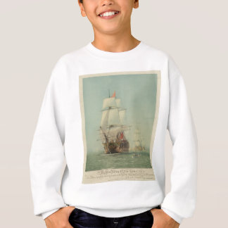 The First Journey of the H.M.S. Victory in 1778 Sweatshirt