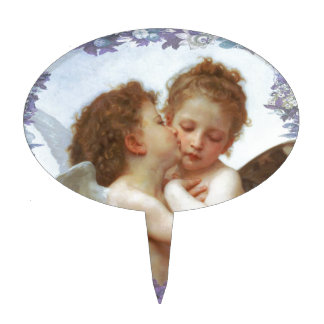 THE FIRST KISS, C.1873 William Bourgeau Cake Topper