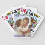 THE FIRST KISS, C.1873 William Bourgeau Bicycle Playing Cards