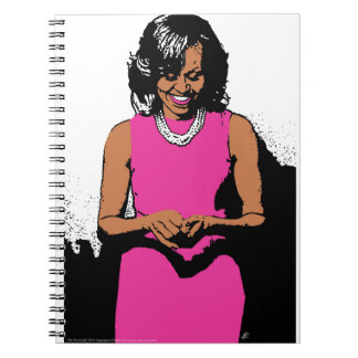 The First Lady by Jesse Raudales Notebook