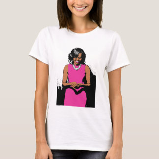 The First Lady by Jesse Raudales T-Shirt