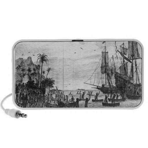 The First Landing of Columbus at America Portable Speakers