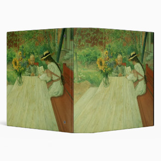 The First Lesson, 1903 3 Ring Binder