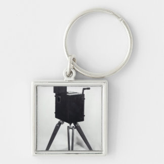 The first Lumiere cinematographe Keychains
