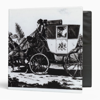 The First Mail Coach, 1784 3 Ring Binders