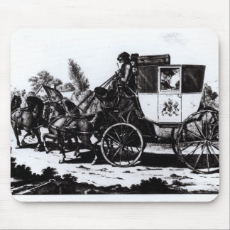 The First Mail Coach, 1784 Mouse Pad
