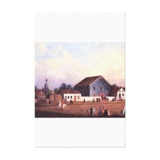 The First Methodist Episcopal_Great Work of Art Canvas Print