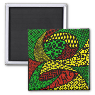"""The First Mix"" Square Magnet"