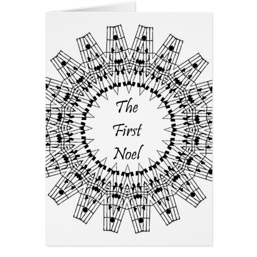The First Noel Stationery Note Card